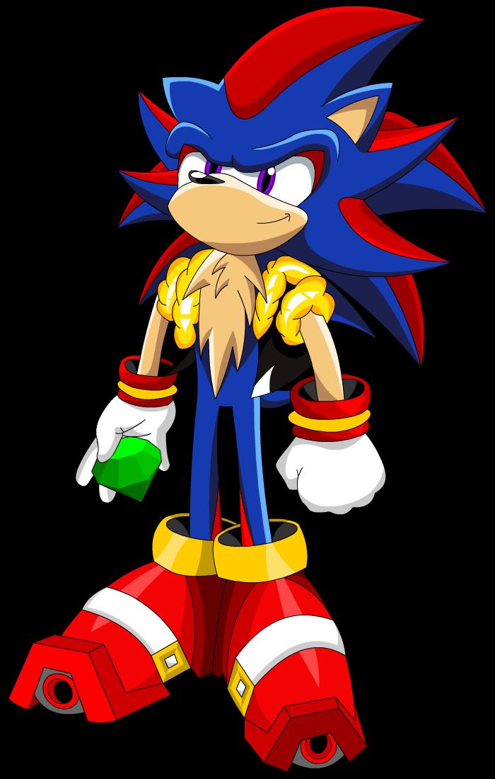Shadic the Hedgehog by KingHedgehog on DeviantArt