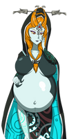 Request: Pregnant Midna by SPOOKY-GH0ST
