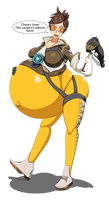 CM: Pregnant Tracer [Overwatch]