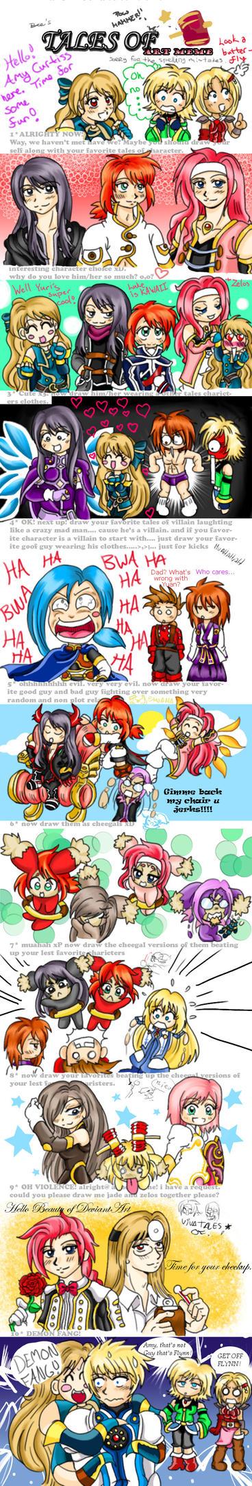 Yuri And Flynn Mystic Arte Tales Of Meme By Amaya