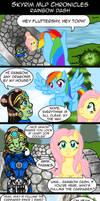 Skyrim MLP Chronicles - Rainbow Dash by AmayaMarieSuta
