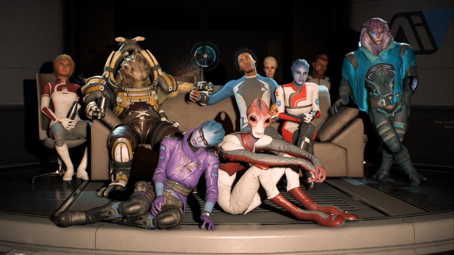 Mass Effect Andromeda - Something's missing... by AmayaMarieSuta