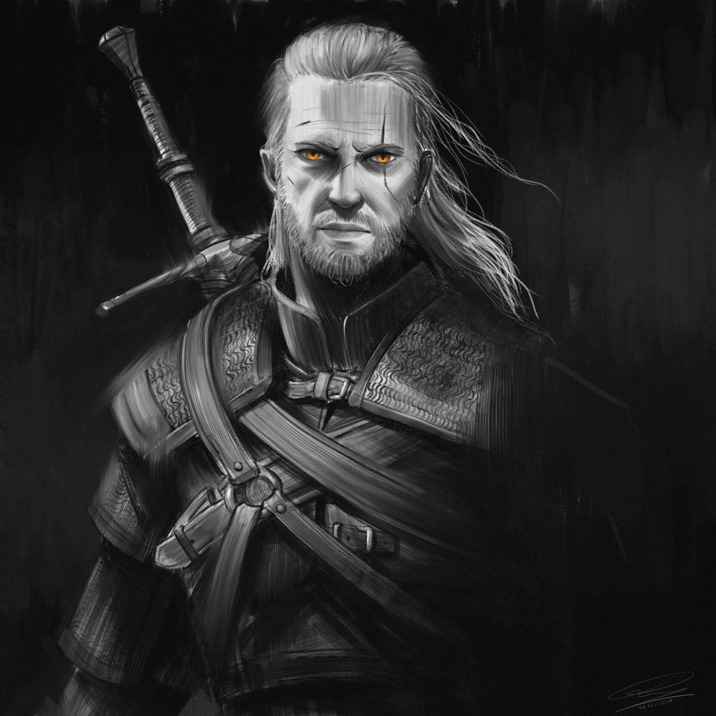 geralt of rivia by - photo #18