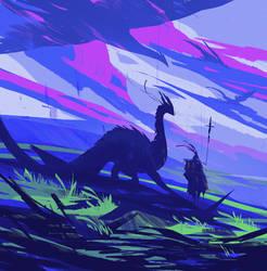 DragonRider by OnionCatNinja