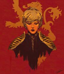 Cersei Lannister by OnionCatNinja