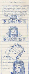 4-Panel-Strip  'Ich habe keine Freunde...' by Shiako-sama