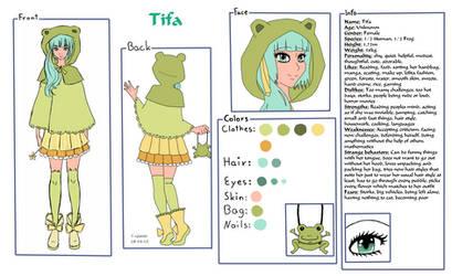 New OC Tifa x3 by Shiako-sama