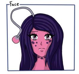OC face x3 by Shiako-sama