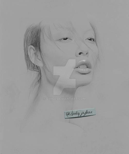 Portrait (Asian Girl) by DAIGL