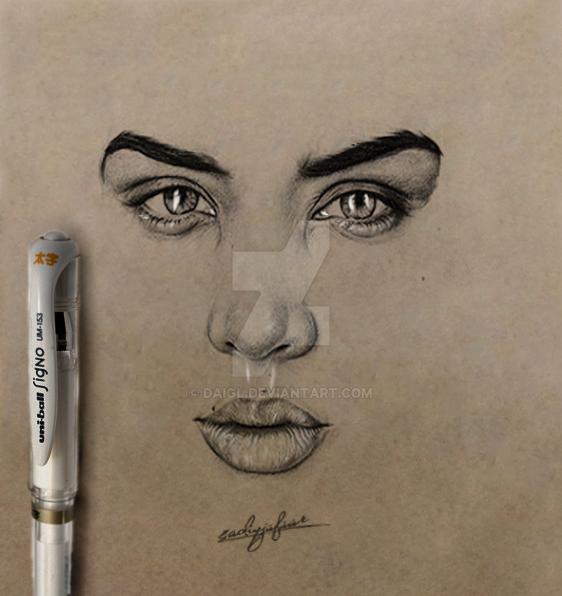 Jasmine Sanders by DAIGL