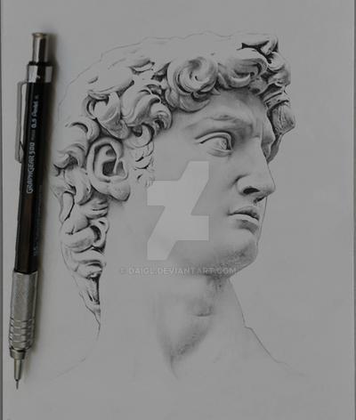 David (Michelangelo) by DAIGL