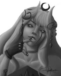 Ilya, berserk mode by ClarkeCollins