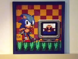 Sonic and Dr. Ivo Robotnik by Kadric