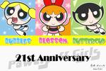 Powerpuff Girls 21st Anniversary