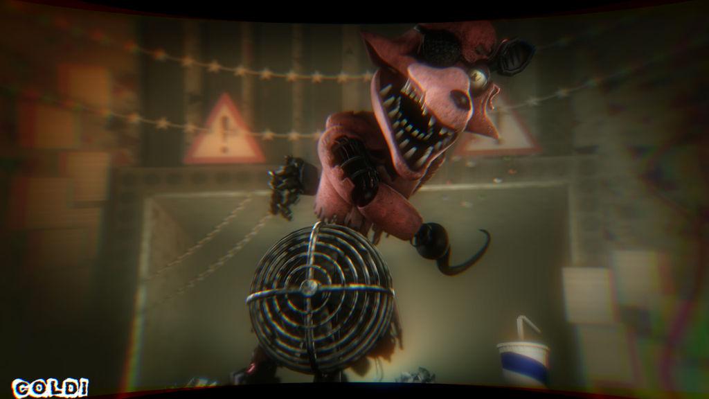 Foxy jumpscare video