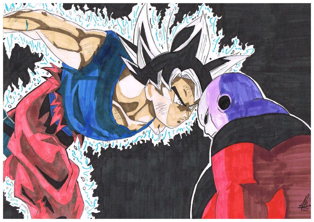 [Dragonball Super] [Ultra Instinct] Goku vs Jiren by B-Operationz