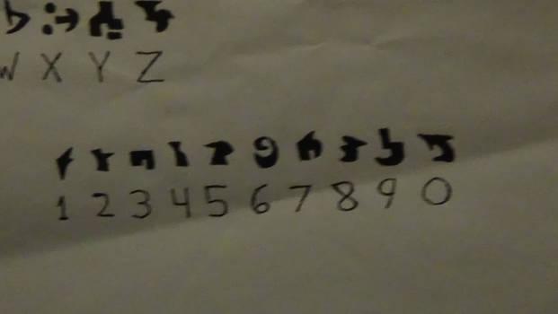 Lunatechian Alphabet