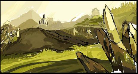 Ankama Landscape by Tharealg2