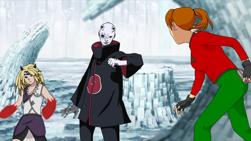 Ashley vs Kagayakaku and Shin by Ashley389