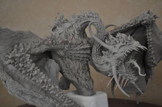 Dragon diorama WIP 2
