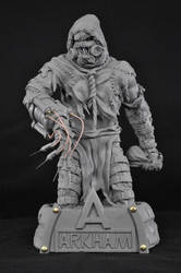 Batman Arkham Scarecrow Sculpt by AntWatkins