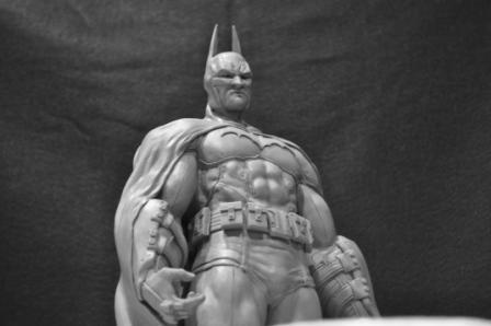 Batman Arkham Asylum statue 2 by AntWatkins