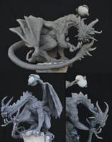 Demon Dragon: Trade Sacrifice by AntWatkins
