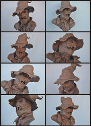Scarecrow Bust: Detail shots by AntWatkins