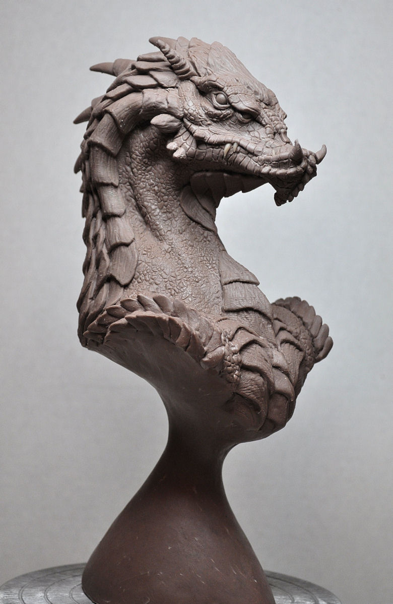 """Norther King"" Dragon Bust 2 by AntWatkins"