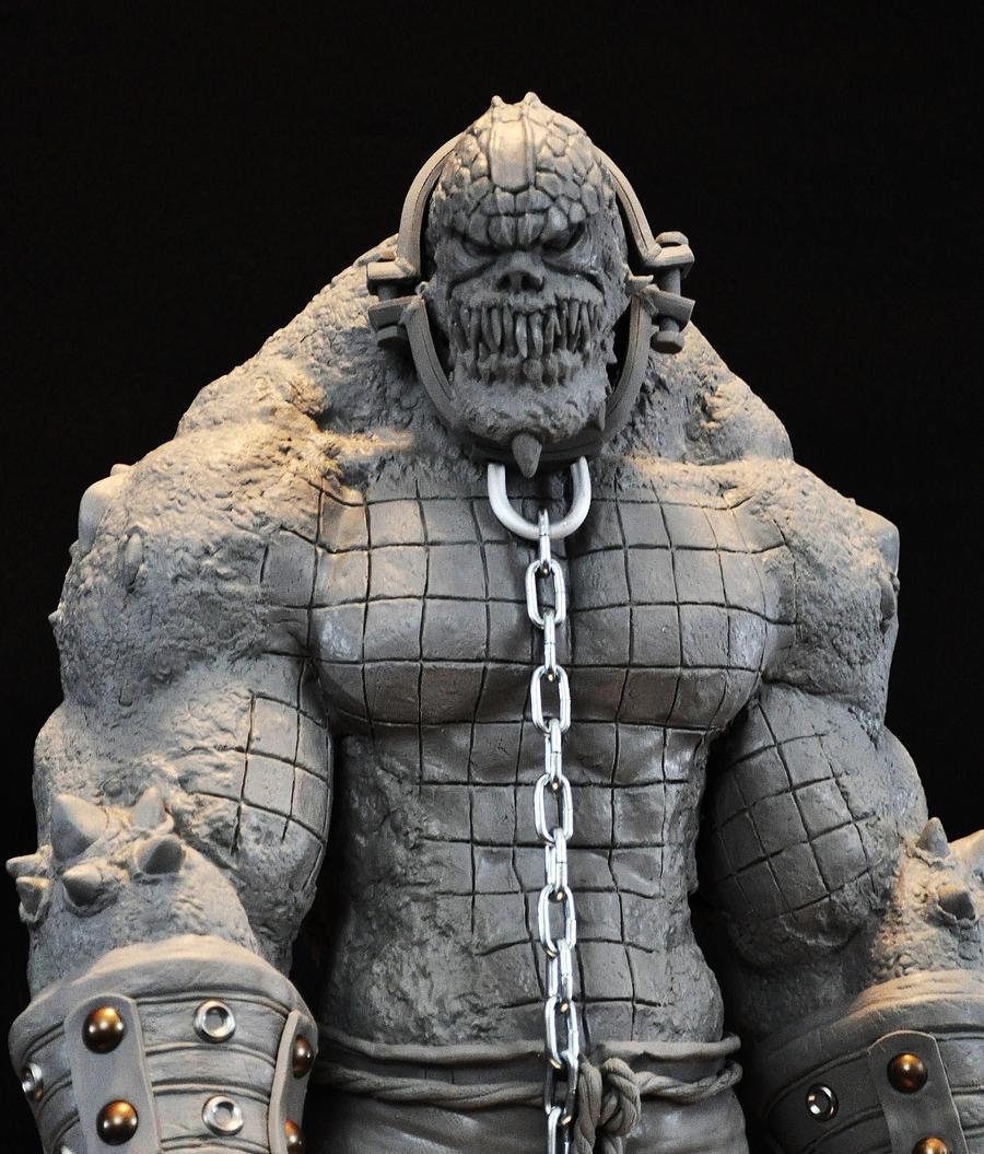 Batman Arkham Asylum Killer Croc Sculpt by AntWatkins