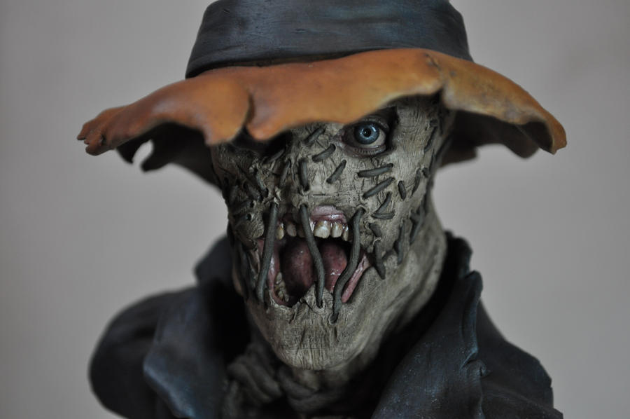 Scarecrow Bust Painted by AntWatkins