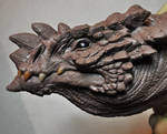 Dragon Plaque sculpt 1 finished Drake