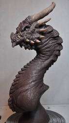 Corruptor Dragon 2 Demon bust Monster Clay