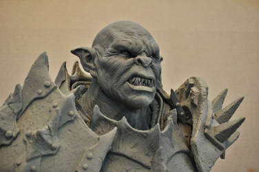 Orc Sculpt Bust 2 The Iron Hand
