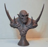 The Impaler Orc bust 1 by AntWatkins