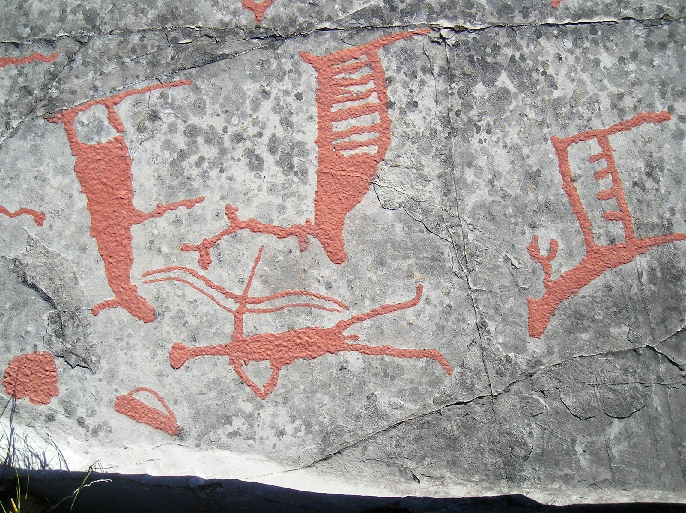 Rock carvings of alta by seaoffirestock on deviantart