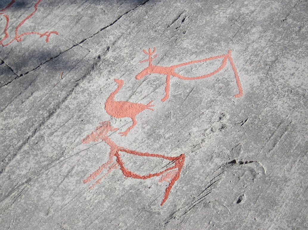 Rock carvings of alta by seaoffirestock on deviantart