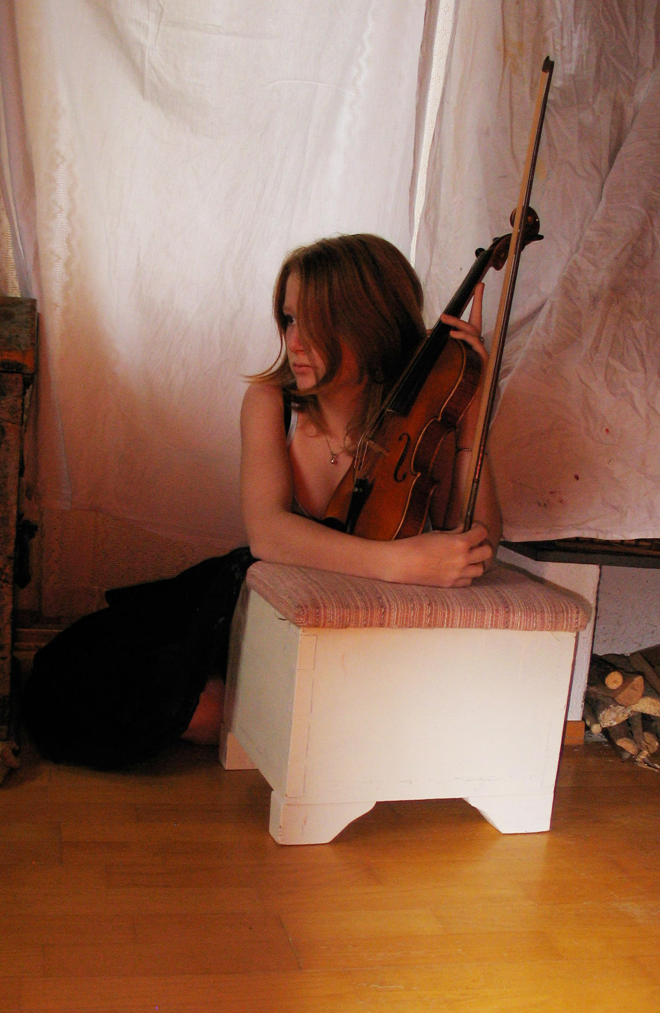 Violin Player1.7 by SeaOfFireStock
