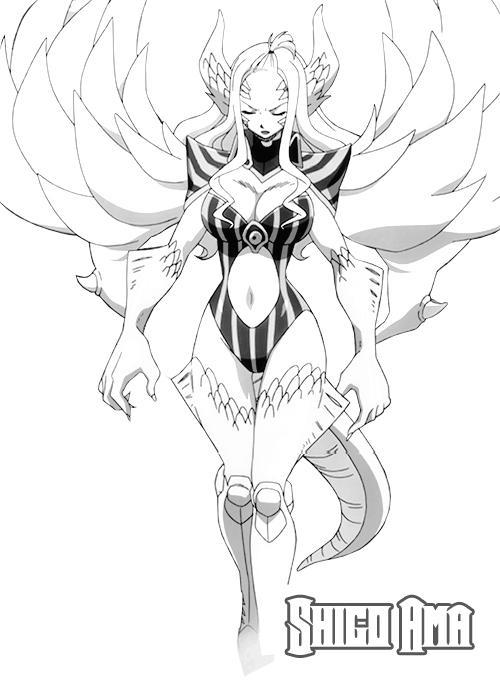 Demon Halphas Lineart By Shigoama On Deviantart Mirajane's demon halphas unleashed chaos descends. demon halphas lineart by shigoama on