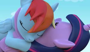 Cuddling...In 3D!