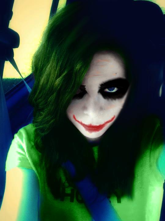 Photo edit Me as The Joker Lol by RAWRimaZOMBIEnom on ...