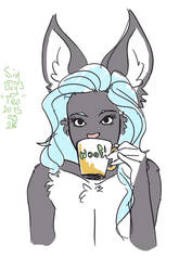 Sketch Day 3 Tea by Sig-nal