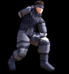 Metal Gear Solid Snake - Smash Bros Ultimate