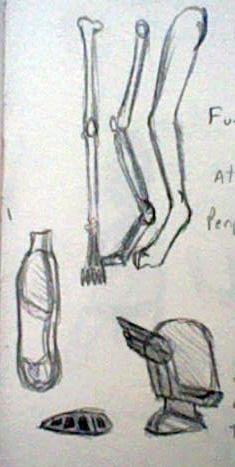 Leg Bones and Glass Helmets by Nanemae