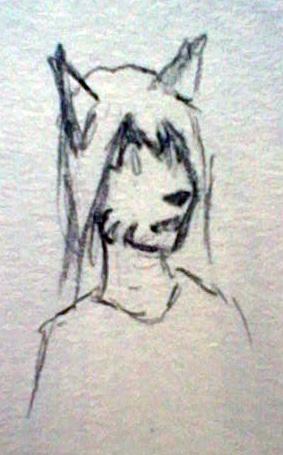 Random Bust Doodle by Nanemae