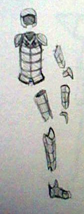 Scrapped Armor Set by Nanemae