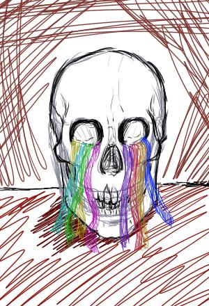 Streamer Skull by Nanemae