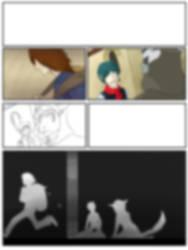 Comic Page 1 Mid/Blur