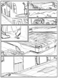 Comic Page 2 Rough - Blurred