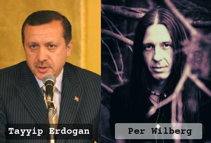 Per Wilberg - Tayyip Erdogan by frontsideair